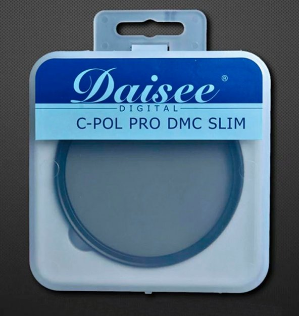 Daisee 58mm C-POL PRO DMC Ultra Slim CPL Polarize Filtre