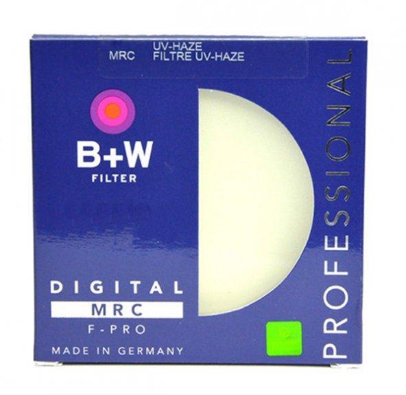 B+W 67mm 010M MRC UV HAZE FİLTRE - MADE İN GERMANY