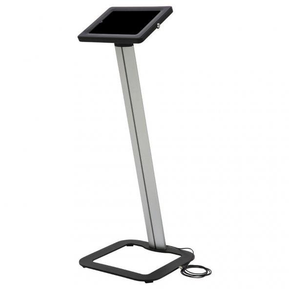 360° Döner Başlıklı Siyah iPad Tablet Tutucu Novel Stand