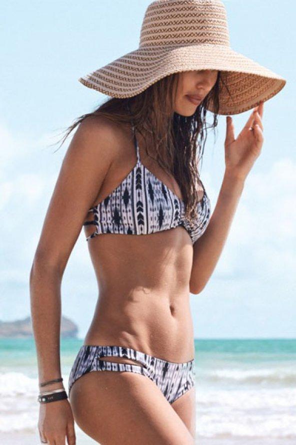 Renkli Özel Tasarım Şık Bikini