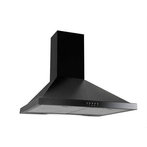Kumtel KO-705 Siyah Piramit Davlumbaz