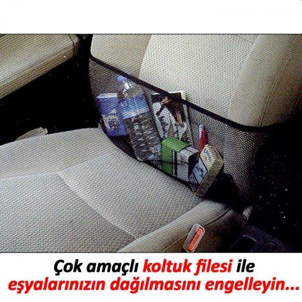 Automix Koltuk Cebi File Hırsız Çantası