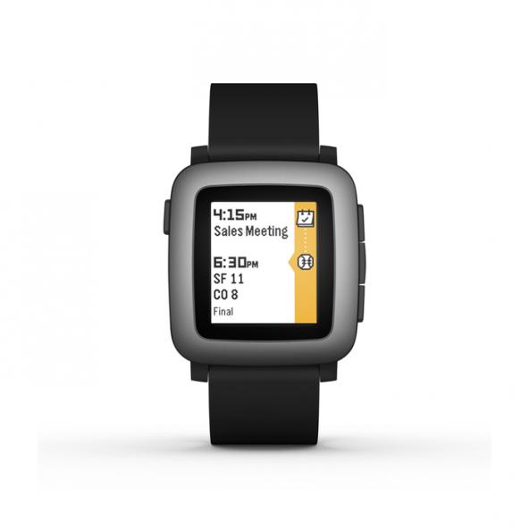 Pebble Time Akıllı Saat Siyah
