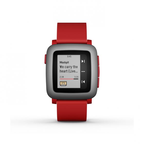 Pebble Time Akıllı Saat Kırmızı
