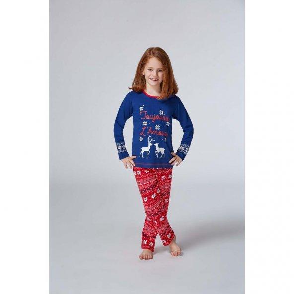 Rolypoly Kız Çocuk Pijama Takımı 1-4 Yaş