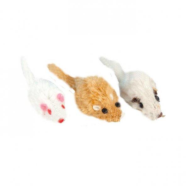 Kediler İçin Pastel Renkte Fare Oyuncak 5 cm
