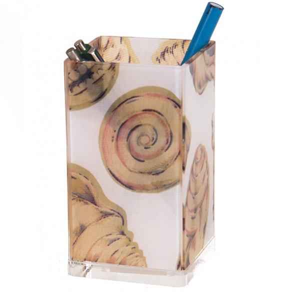 Diş macunu kabı Kumaş istiridye desenli