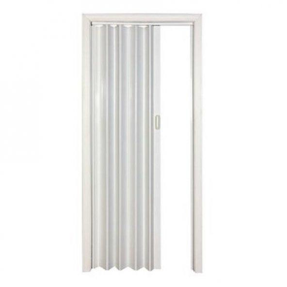 Katlanan Akordiyon Kapı Beyaz Dişbudak 100X200 cm
