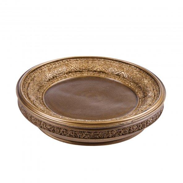 Sabunluk Dekoratif işlemeli altın