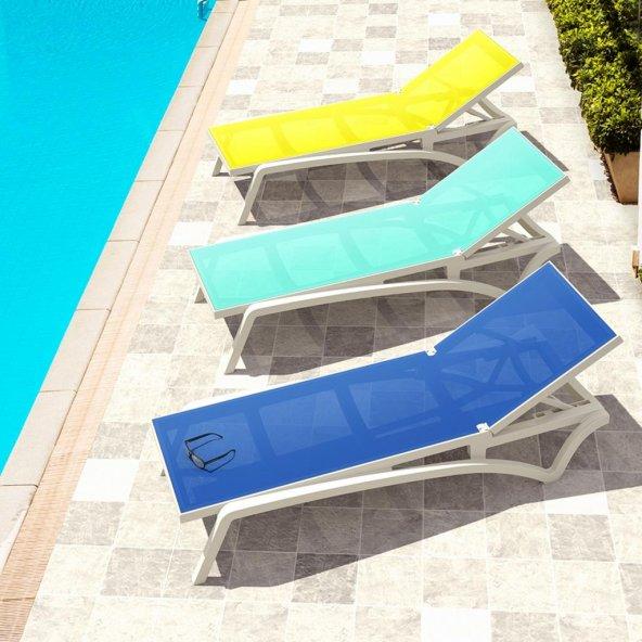 Siesta Pacific Şezlong - Balkon Bahçe Havuz Mobilyası