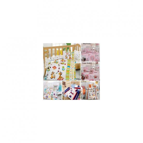CottonBox Ranforce Bebek Nevresim Takimi100Pamuk 10Farki Seçenek