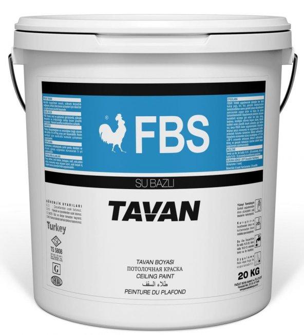 Fbs Tavan Boyası 17.5 Kg Beyaz