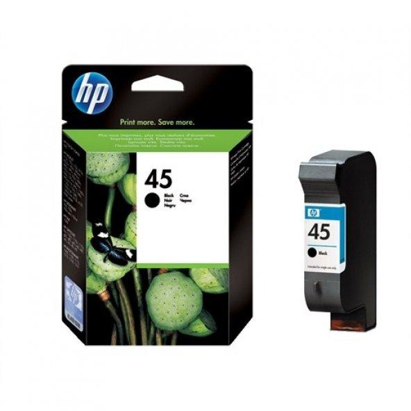 HP 45A 51645A Yüksek Kapasite Orjınal Plotter Kartuş SK 2021 Ocak