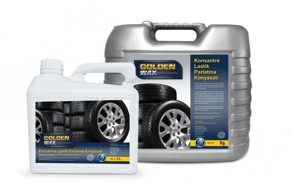 Goldenwax Jel Lastik Parlatıcısı En İyi Lastik Parlatıcı Kimyasalı Lastik Yanak Parlatıcı Temizleyici Lastik Yenileyici Siyahlaştırıcı 200ML