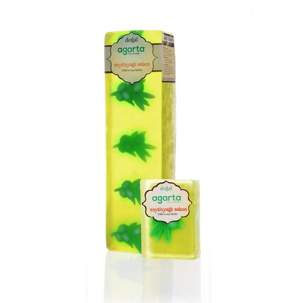 Agarta El Yapımı Doğal Blok Sabun - Zeytinyağı Sabunu