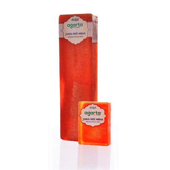 Agarta El Yapımı Doğal Blok Sabun - Yosun Özü Sabunu