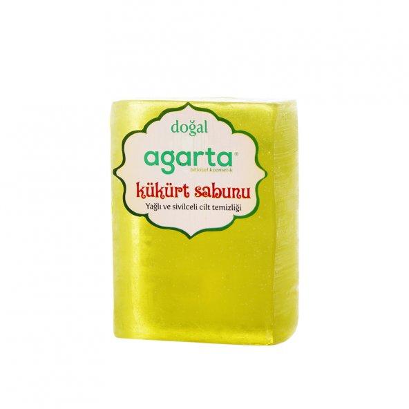 Agarta El Yapımı Doğal Sabun - Kükürt Sabunu