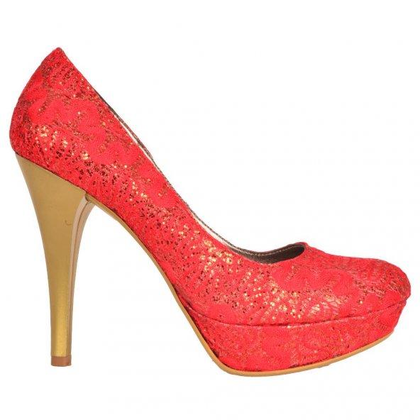 Paddy ZN 172 Bayan Bindallı Platform Ayakkabı