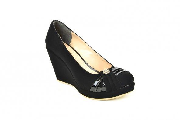 Ebru ZN 144 Dolgu Platform Kadın Ayakkabı