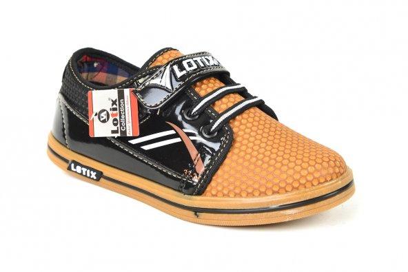 Lotix FT 062 Erkek Çocuk Microfiber Günlük Giyim Spor Ayakkabı