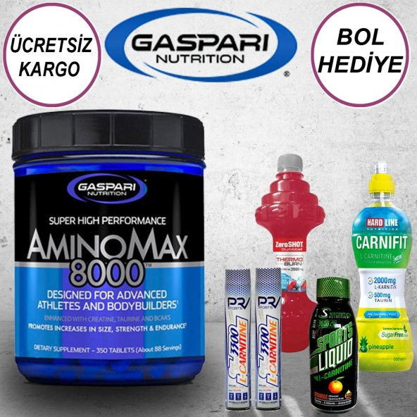 Gaspari Amino Max 8000 Amino Acid - 350 Tablet