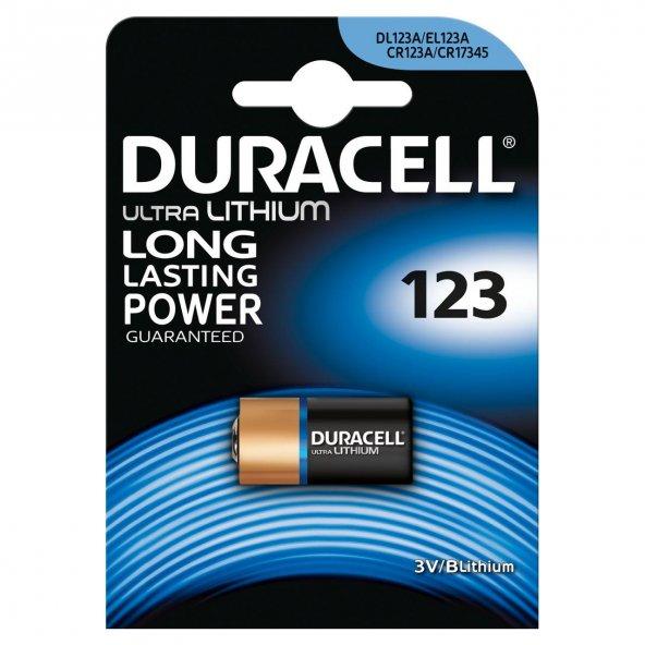 Duracell CR123A Dijital Fotoğraf Makinesi Pili