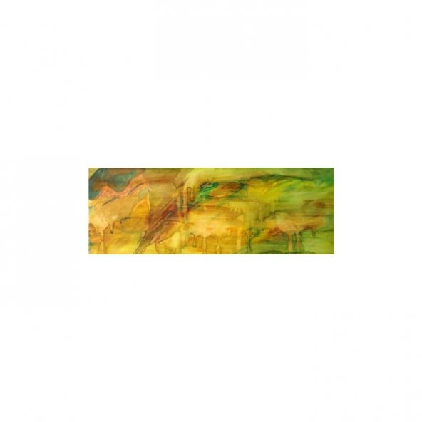 Gold 3 Parça Kanvas Tablo 40x120 Cm