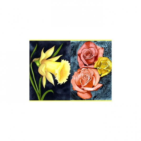 Beautiful Colors 2 Parça Kanvas Tablo 80X100 Cm