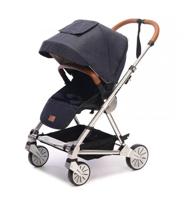 Norfolk Baby Prelude Special Edition Air Luxury Çift Yönlü Bebek Arabası - Siyah