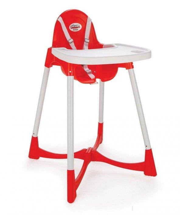 Pilsan Pratik  Mama Sandalyesi - Pembe - Mavi - Kırmızı Renk