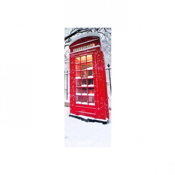 Londra Telefon Kulübesi Buzdolabı Sticker