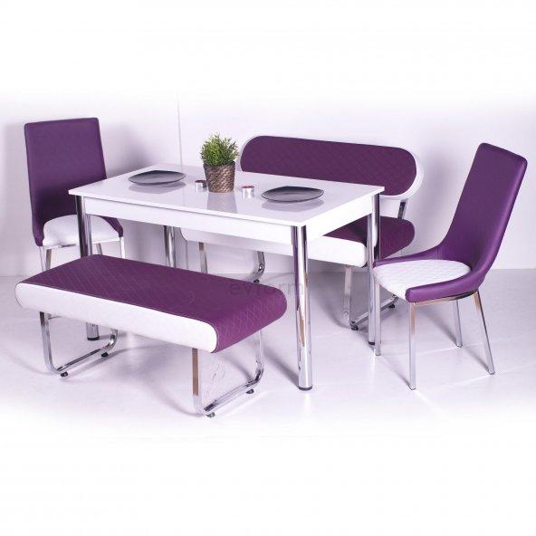 Banklı Masa Takımı Mutfak Yemek Masası Model Fiyat Mutfak Masası