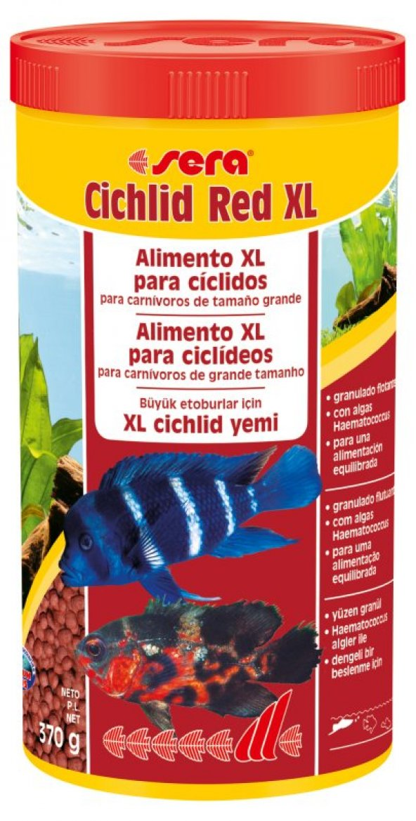 Sera Cichlid Red XL Granül Yem 1000 ML