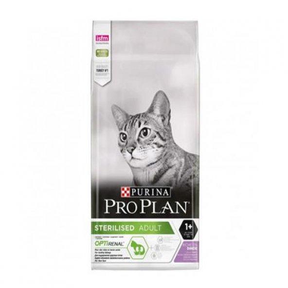 Pro Plan Sterilised Tavuk-Hindi Kısırlaştırılmış Kedi Maması 3 Kg