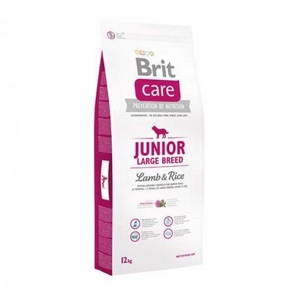 Brit Care Junior Large Breed Lamb Rice Köpek Maması 12 Kg