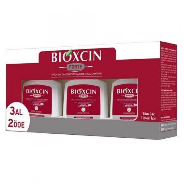 Bioxcin Forte 300 ml 3 Al 2 Öde Tüm Saç Tipleri Şampuan