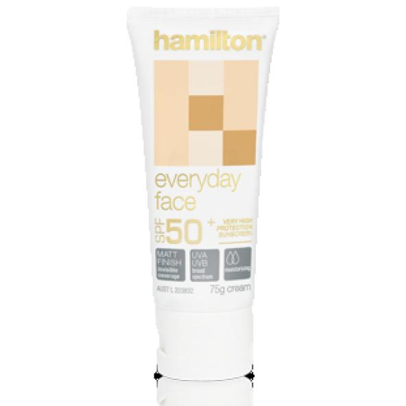 Hamilton Everyday Face Mat Spf 50+ 75 gr Güneş Kremi