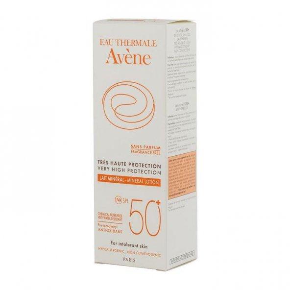 Avene Lait Mineral SPF 50 + 100 ml Güneş Kremi