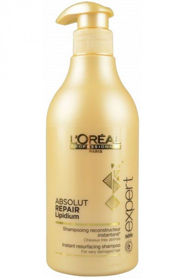 LOREAL Absolut Repair Lipidium Zayıflamış Aşırı Yıpranmış Saçlar İçin Onarıcı Şampuan 500ml