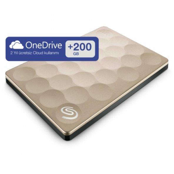 Seagate 2.5 2TB BPlus UltraSlim Altın STEH2000201