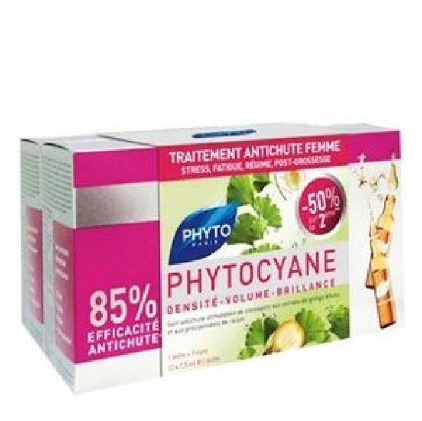 Phyto Phytocyane Densifying Treatment Serum 12x7,5ml