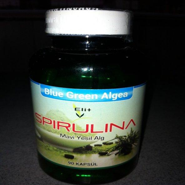Spırulına Kapsülü (Blue green algea)