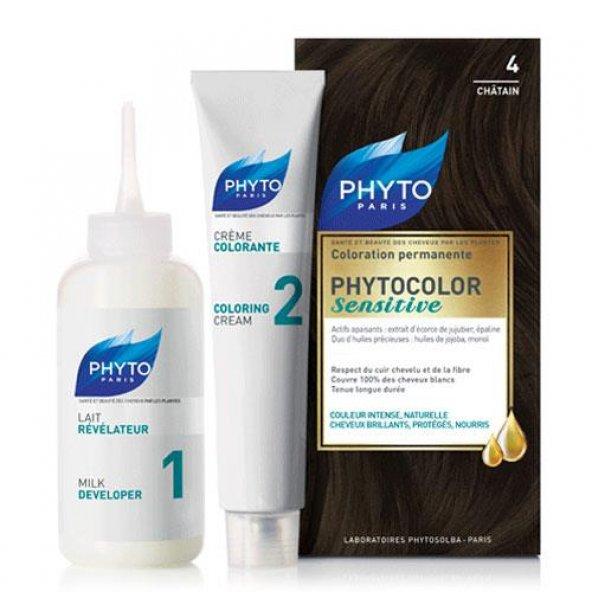 Phyto Phytocolor Sensitive 4 Kestane