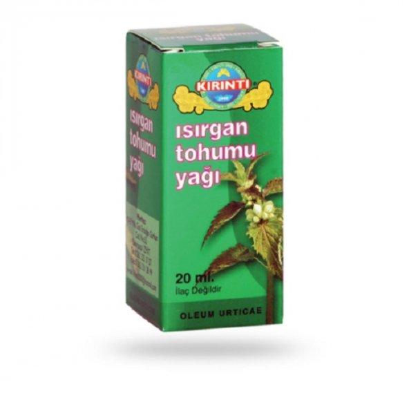 Kırıntı Isırgan Tohumu Yağı 20 ml