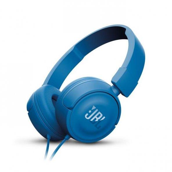JBL T450 Kulaküstü Kulaklık CT OE Mavi
