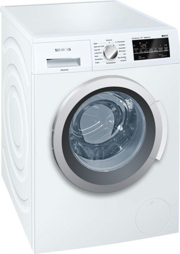Siemens WM12T480TR A+++ 1200 Devir 9 kg Çamaşır Makinesi