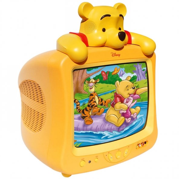 Winnie The Pooh 37 Ekran Scart Girişli Televizyon