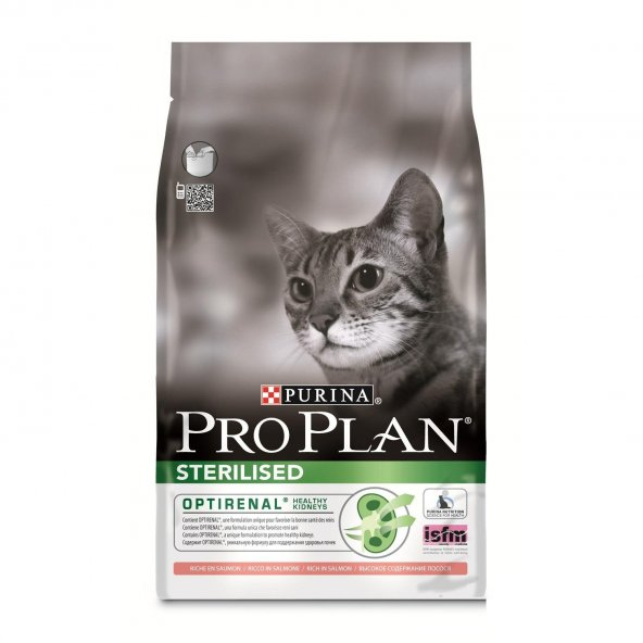 ProPlan Somon Balıklı Kısırlaştırılmış Kuru Kedi Maması 10 Kg