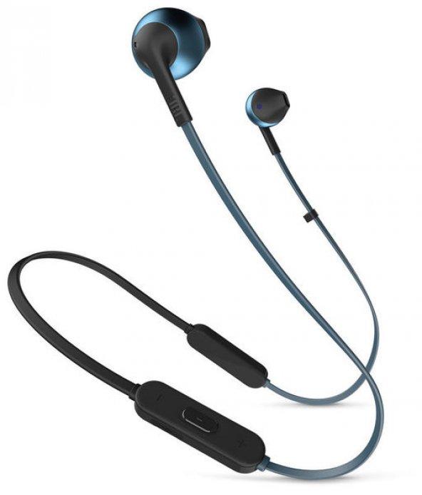 JBL T205BT Bluetooth Kulakİçi Kulaklık / Mavi