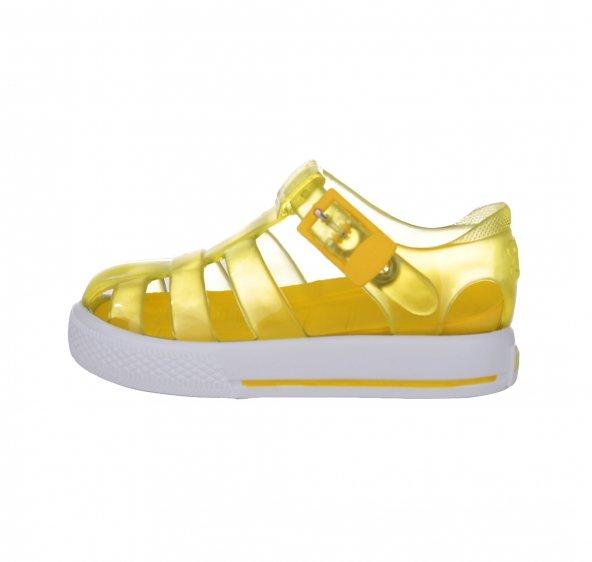 İgor S10107 Tenıs Bebek Sandalet Sarı